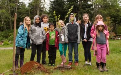 Greens celebrate Earth Day in Alert Bay