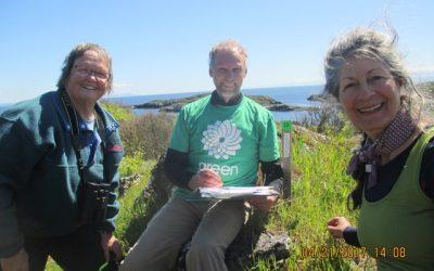 Earth Day on Mitlenatch Island