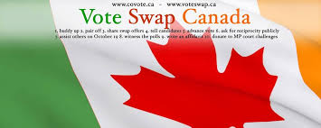 Vote Swapping:  A Side Effect of First Past The Post
